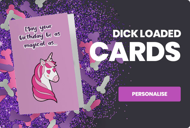 Dick Loaded Cards