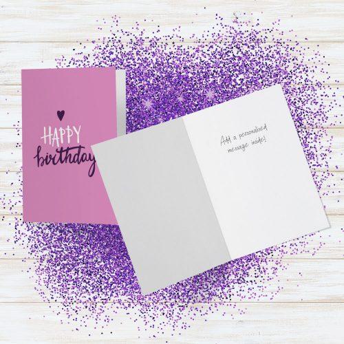 Glitter Bomb Card